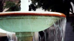 Mentidero Fountain Cadiz Spain stock footage