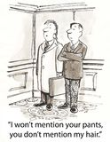 Mention pants Stock Photography