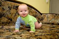 Mentira del bebé foto de archivo libre de regalías