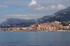 Menton Foto de Stock Royalty Free