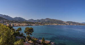 Menton bay Stock Images