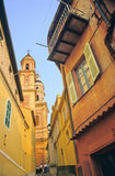 Menton church Royalty Free Stock Photos