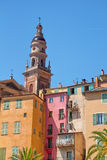 Menton. Colourful Menton, the french riviera Stock Images