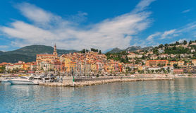 Menton. On the Cote d'Azur Royalty Free Stock Photo