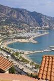 Menton, Cote d'Azur, France Stock Image