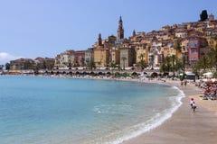 Menton - dAzur da costa - sul de France Foto de Stock