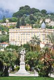 Menton, France. Town of Menton, on French Riviera France Stock Image