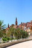 Menton, France. Stock Photo