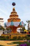 MENTON, FRANCIA - 27 FEBBRAIO: Festival del limone (Fete du Citron) sul Riviera francese. immagini stock libere da diritti