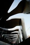 MENTON FRANKRIKE - SEPTEMBER 15: Enorm fasad av museet av konstnären Jean Cocteau Arkivbild