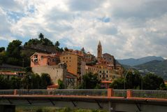 Menton - french riviera Royalty Free Stock Photo
