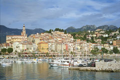 Menton - french riviera  Stock Photography
