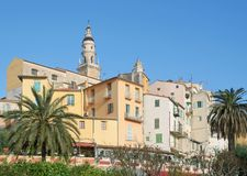 Menton,French Riviera,South of France Royalty Free Stock Photography