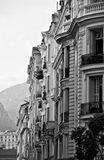 Menton houses Stock Photos