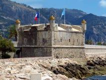 Menton - Middeleeuwse citadel royalty-vrije stock fotografie