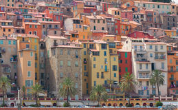 Menton old town, France Royalty Free Stock Photography