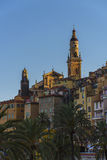 Menton Royalty Free Stock Photo