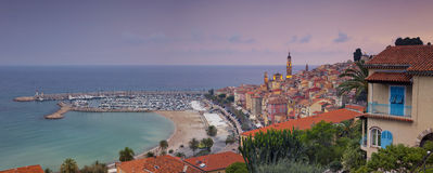 Menton. Stock Photos