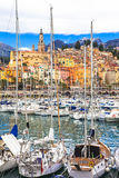Menton - south of France Royalty Free Stock Photography