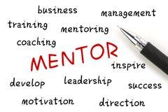 mentor arkivfoton