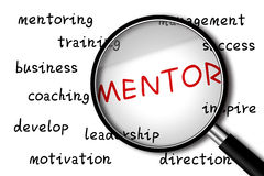 mentor stock illustrationer