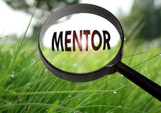 mentor royalty-vrije stock fotografie