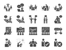 Free Mentor Icon Set. Included Icons As Adviser, Counsellor, Consultant, Teaching, Guide, Guidance And More. Royalty Free Stock Photography - 163404467