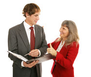 Mentor Series - Thumbsup Stock Image