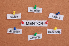 Mentorconcept Stock Foto