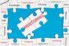 Mentoring έννοια στοκ εικόνες