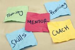 mentoring Imagen de archivo