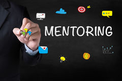 MENTORING Royalty Free Stock Photography