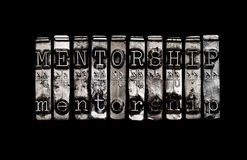 Mentorshipconcept Stock Foto's