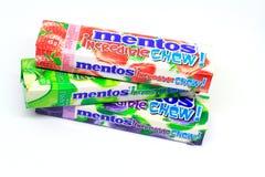 Mentos糖果 免版税库存照片