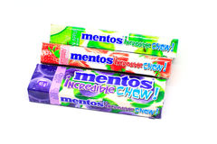 Mentos糖果 库存照片