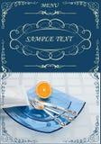 menu Obraz Royalty Free