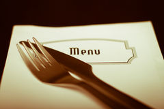 Menu Royalty Free Stock Image