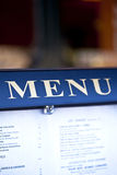 Menu Royalty Free Stock Images