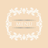Menu 28 Stock Photography