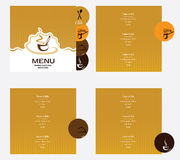 menu Immagine Stock