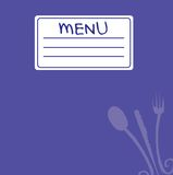 Menu 5 Royalty Free Stock Photo