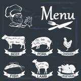 menu Royalty-vrije Stock Fotografie