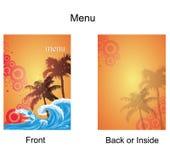 Menu 7 Imagens de Stock