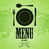 Menu background Royalty Free Stock Image