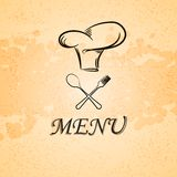 Menu background Royalty Free Stock Photography