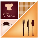 Menu backgrounds Royalty Free Stock Images