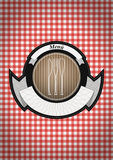 Menu badge Royalty Free Stock Image
