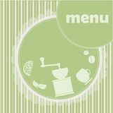 Menu banner Royalty Free Stock Images