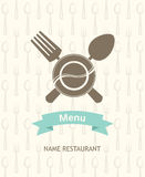 Menu banner Royalty Free Stock Image