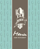 Menu banner Royalty Free Stock Photo
